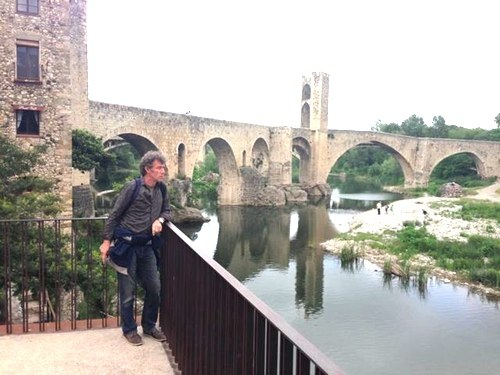 Jan-Hendrik in Besalu